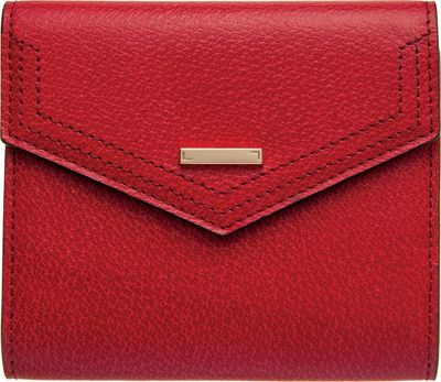 Lodis Stephanie Under Lock and Key Lana French Purse Red - Lodis Women's Wallets
