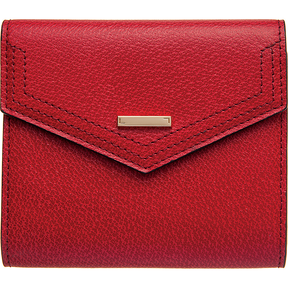 Lodis Stephanie Under Lock and Key Lana French Purse Red - Lodis Womens Wallets - Women's SLG, Women's Wallets