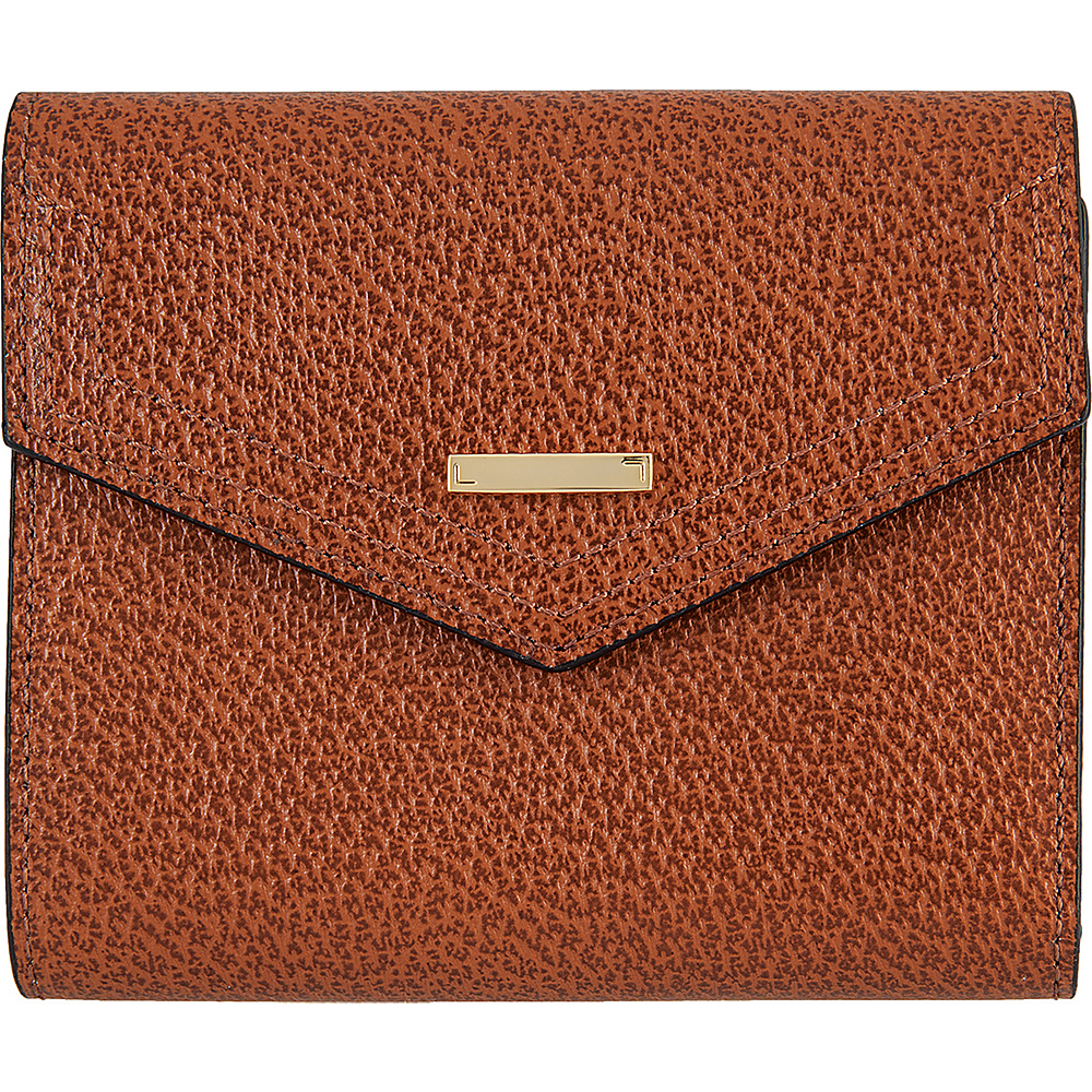 Lodis Stephanie Under Lock and Key Lana French Purse Chestnut - Lodis Womens Wallets - Women's SLG, Women's Wallets