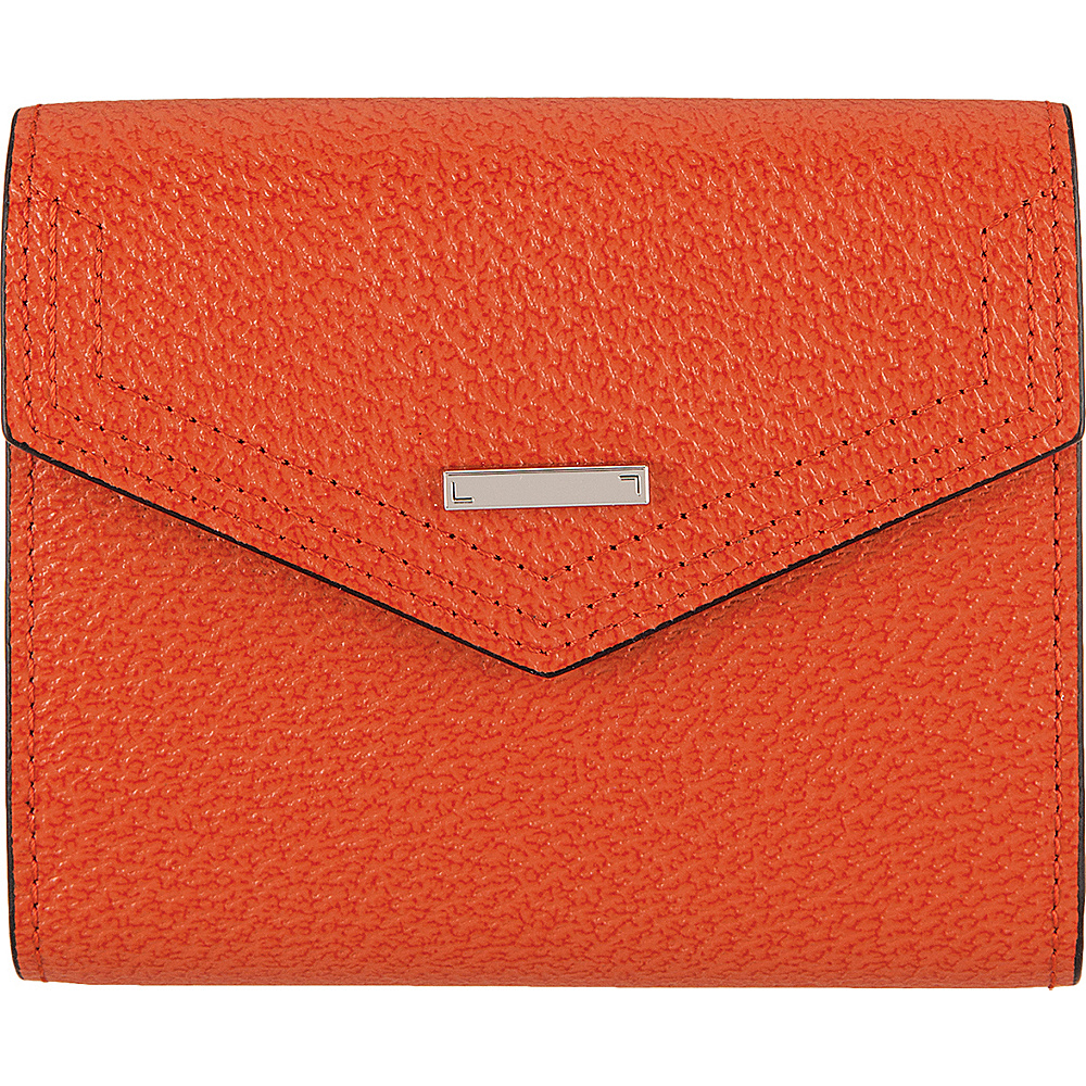 Lodis Stephanie Under Lock and Key Lana French Purse Orange - Lodis Womens Wallets - Women's SLG, Women's Wallets