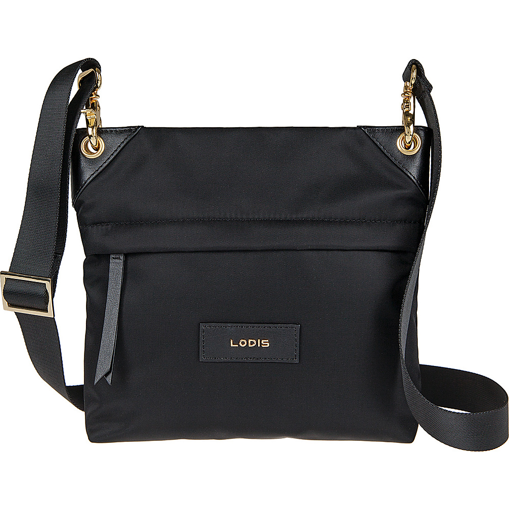 Lodis Blar Nylon Under Lock and Key Kalen Crossbody Black - Lodis Fabric Handbags - Handbags, Fabric Handbags