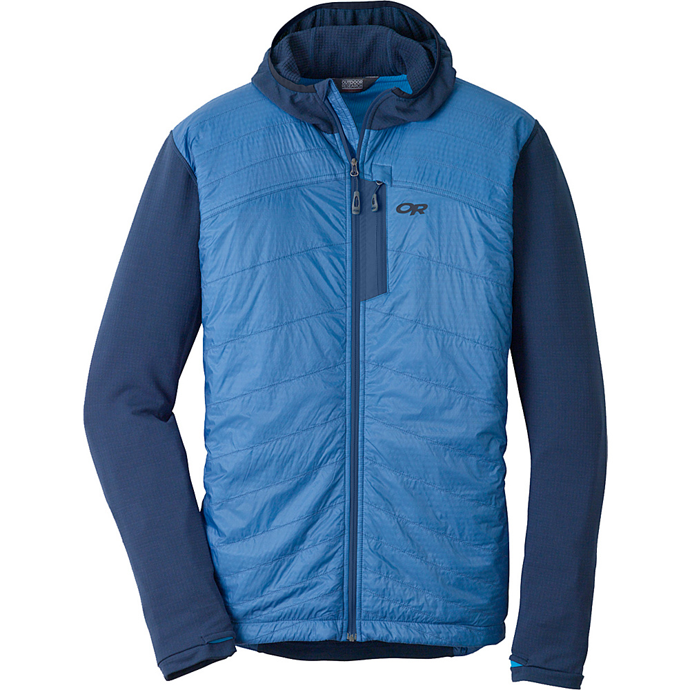Outdoor Research Deviator Hoody XL - Dusk/Hydro - Outdoor Research Mens Apparel - Apparel & Footwear, Men's Apparel