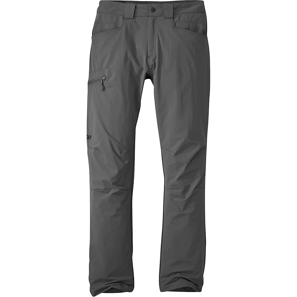 Outdoor Research Voodoo Pants 38 - Regular - Charcoal - Outdoor Research Mens Apparel - Apparel & Footwear, Men's Apparel