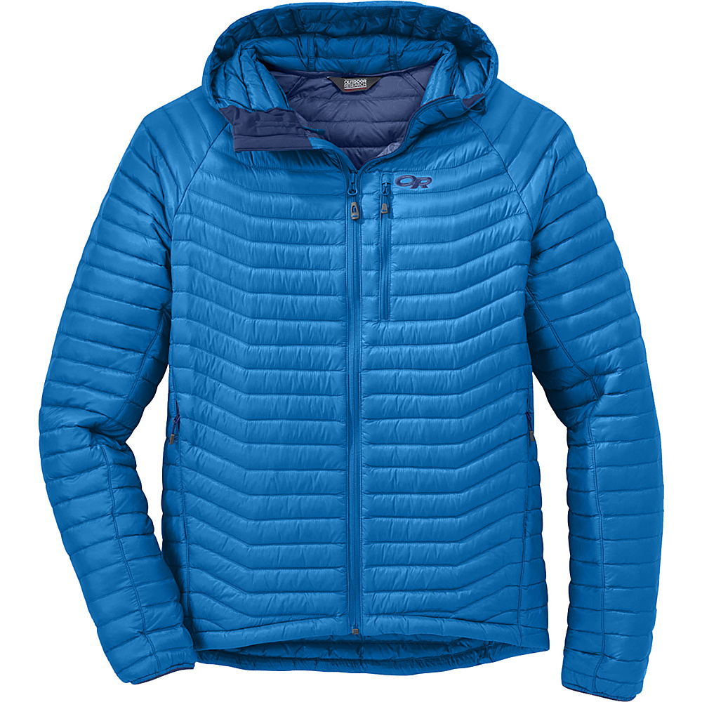 Outdoor Research Verismo Hooded Jacket S - Glacier - Outdoor Research Womens Apparel - Apparel & Footwear, Women's Apparel