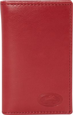 Mancini Leather Goods Manchester Collection: Men's RFID Hipster Wallet Red - Mancini Leather Goods Men's Wallets