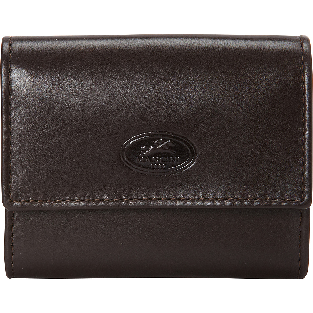 Mancini Leather Goods Manchester Collection: Men's RFID Expandable Credit Card Wallet Brown - Mancini Leather Goods Men's Wallets