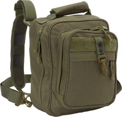 Fox Outdoor Cruiser Messenger Bag Olive Drab - Fox Outdoor Messenger Bags