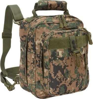 Fox Outdoor Cruiser Messenger Bag Digital Woodland - Fox Outdoor Messenger Bags
