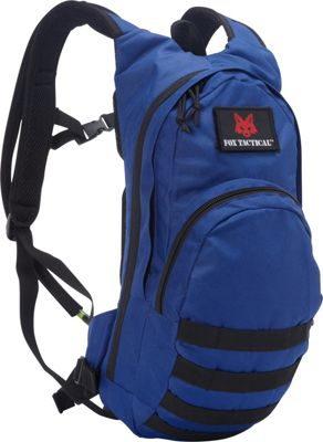 Fox Outdoor Compact Modular Hydration Pack Royal Blue - Fox Outdoor Hydration Packs and Bottles