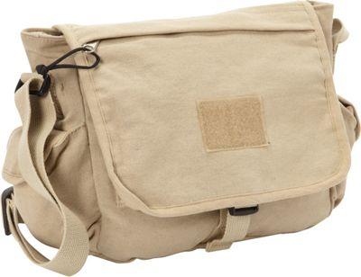 Fox Outdoor Retro Messenger Bag Khaki - Fox Outdoor Messenger Bags