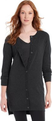 Lole Miu Cardigan S - Black Heather - Lole Women's Apparel