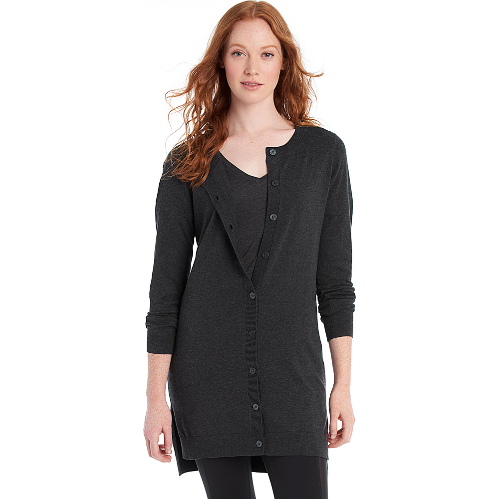 Lole Miu Cardigan S - Black Heather - Lole Womens Apparel - Apparel & Footwear, Women's Apparel
