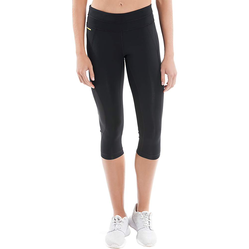 Lole Run Capris XXS - Black - Lole Womens Apparel - Apparel & Footwear, Women's Apparel