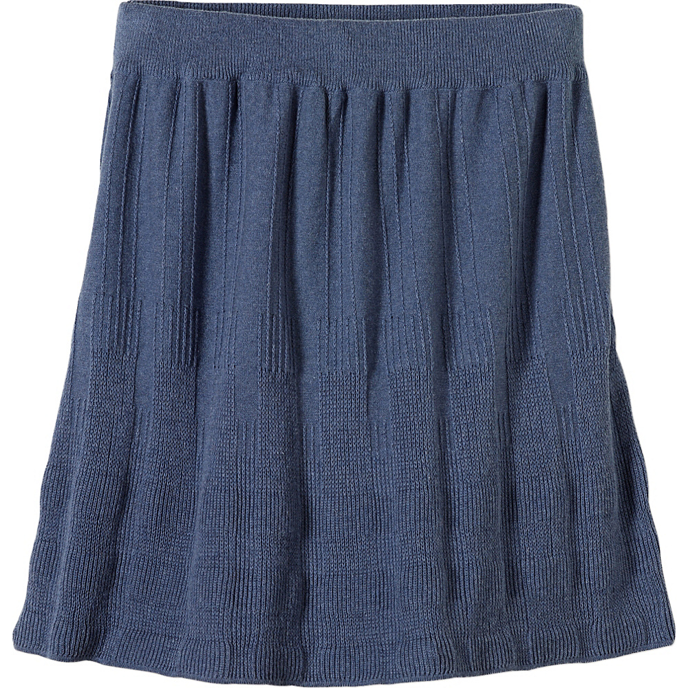 PrAna Harper Skirt XS - Gray Indigo - PrAna Womens Apparel - Apparel & Footwear, Women's Apparel