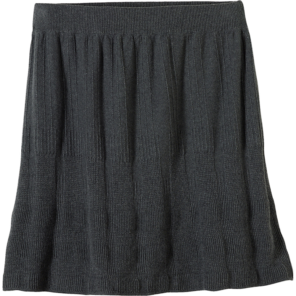 PrAna Harper Skirt M - Charcoal - PrAna Womens Apparel - Apparel & Footwear, Women's Apparel