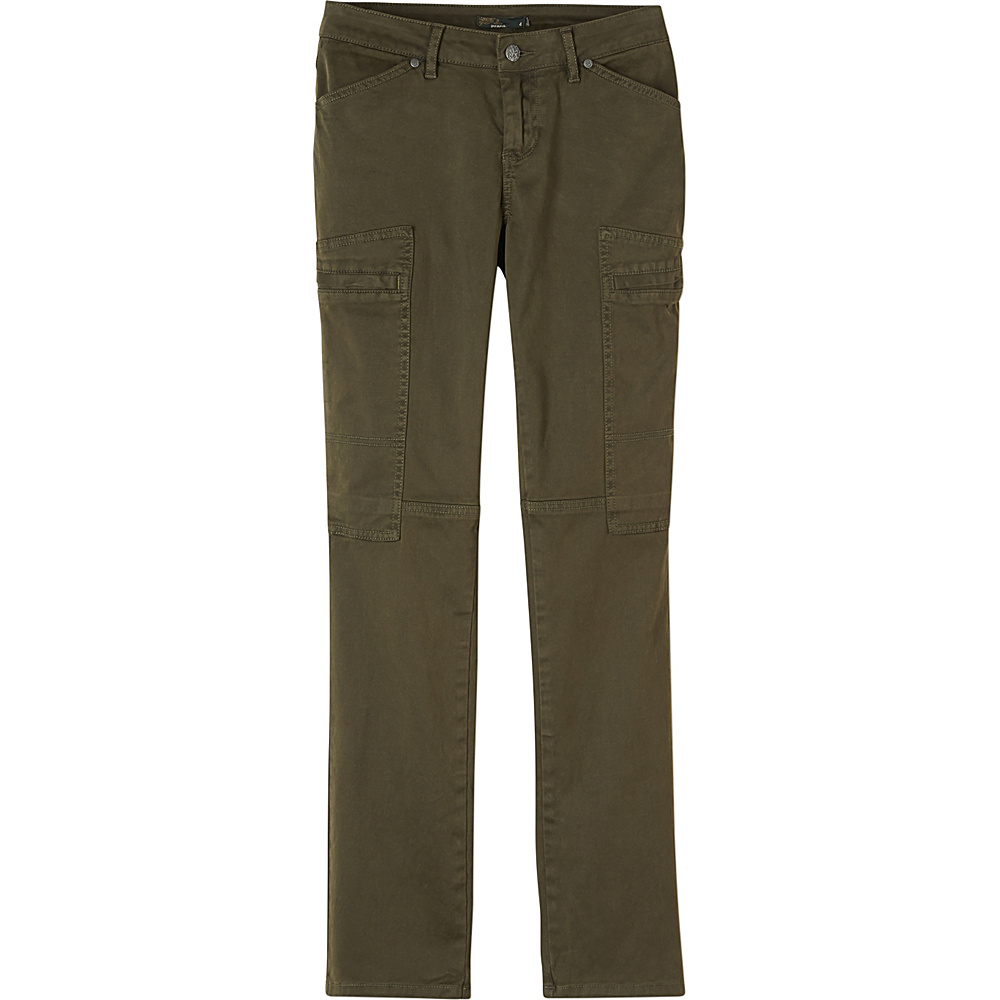 PrAna Louisa Pant Straight Leg 12 - Dark Olive - PrAna Womens Apparel - Apparel & Footwear, Women's Apparel