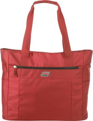 Andare Buenos Aires 16 inch Shopper Tote Garnet - Andare Luggage Totes and Satchels