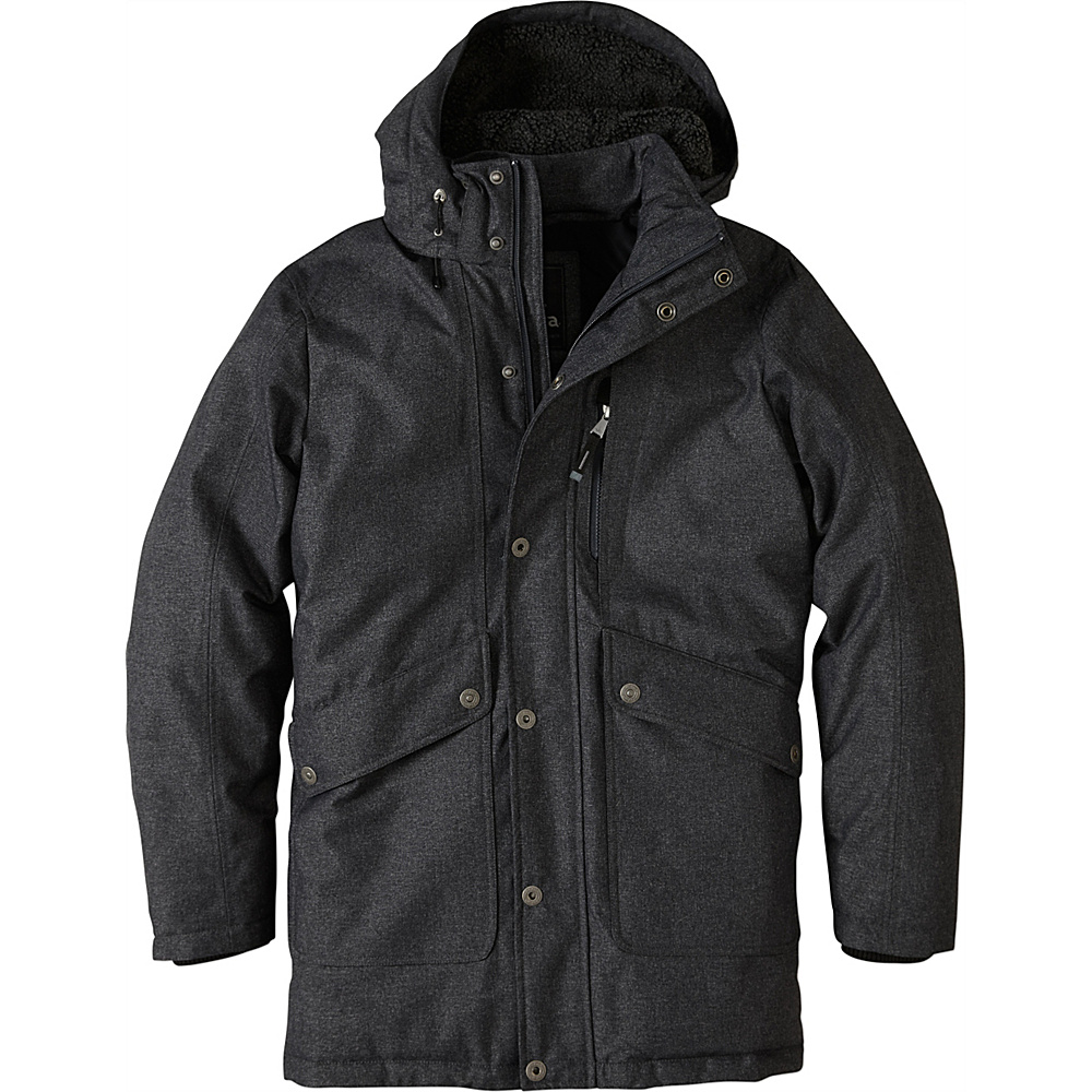 PrAna Merced Jacket M - Black Heather - PrAna Mens Apparel - Apparel & Footwear, Men's Apparel