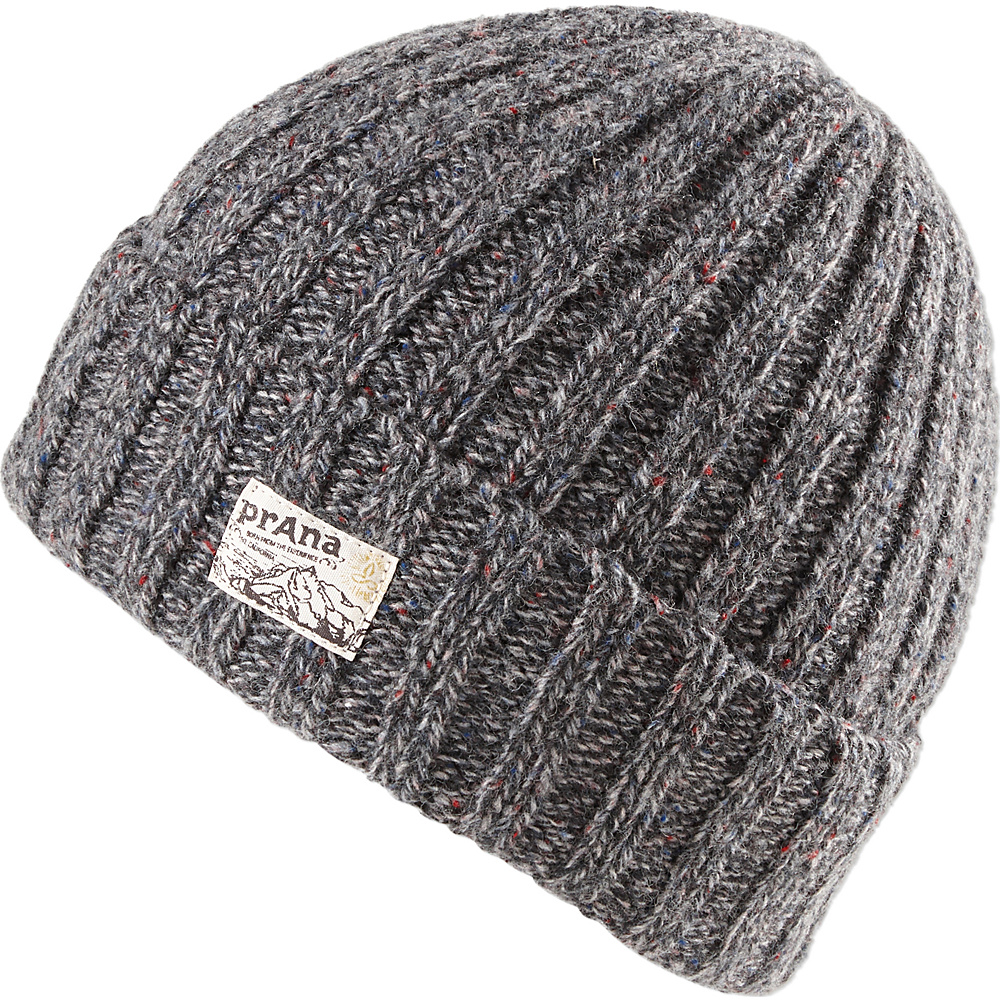 PrAna Damian Beanie One Size - Black - PrAna Hats/Gloves/Scarves - Fashion Accessories, Hats/Gloves/Scarves