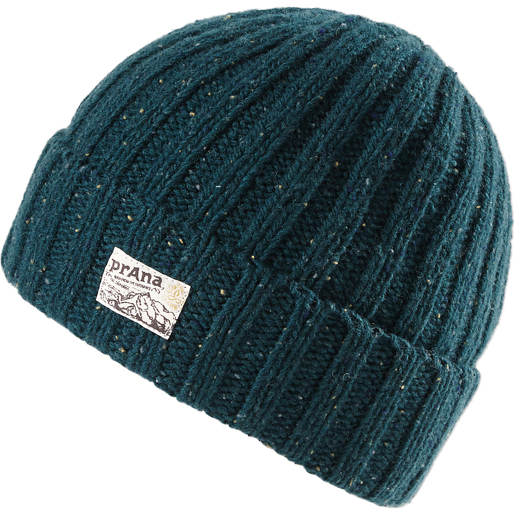 PrAna Damian Beanie One Size - Navy - PrAna Hats/Gloves/Scarves - Fashion Accessories, Hats/Gloves/Scarves