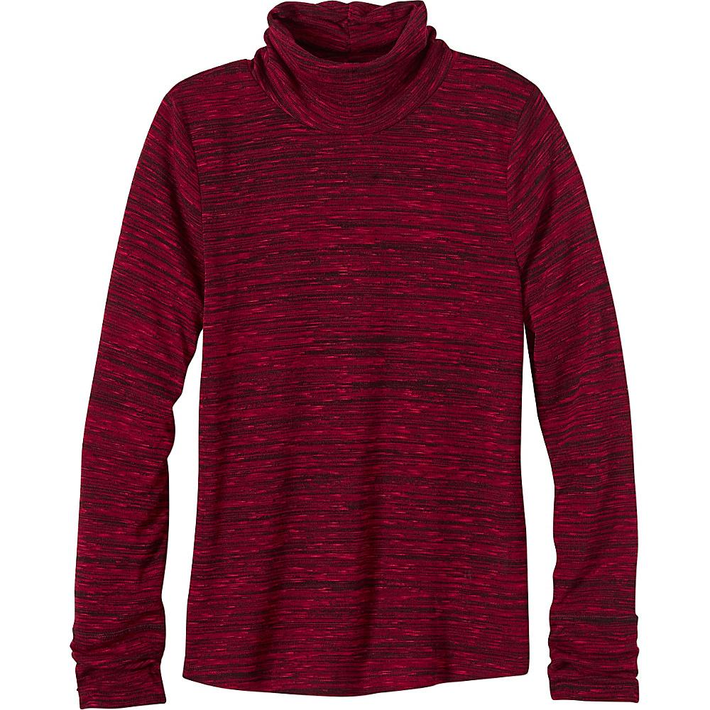 PrAna Annina Turtleneck XL - Sunwashed Red - PrAna Womens Apparel - Apparel & Footwear, Women's Apparel