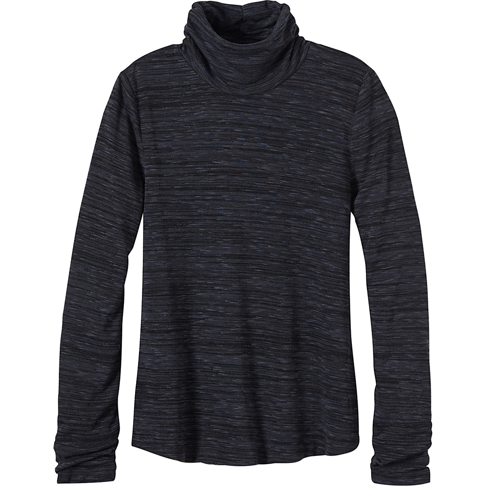 PrAna Annina Turtleneck XS - Coal - PrAna Womens Apparel - Apparel & Footwear, Women's Apparel