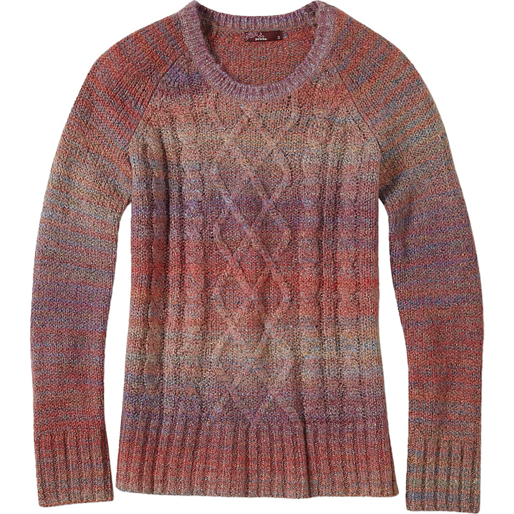 PrAna Leisel Sweater XS - Deep Marsala - PrAna Womens Apparel - Apparel & Footwear, Women's Apparel