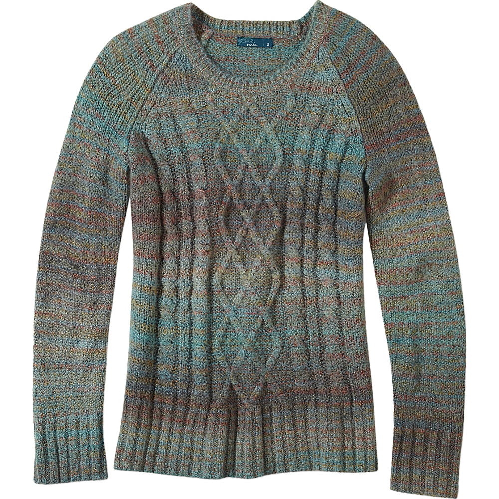 PrAna Leisel Sweater S - Harbor Blue - PrAna Womens Apparel - Apparel & Footwear, Women's Apparel