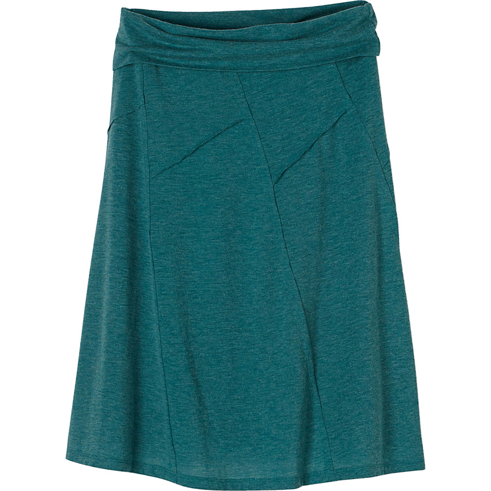 PrAna Daphne Skirt S - Harbor Blue - PrAna Womens Apparel - Apparel & Footwear, Women's Apparel