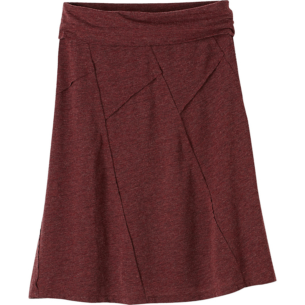 PrAna Daphne Skirt XL - Burgundy - PrAna Womens Apparel - Apparel & Footwear, Women's Apparel