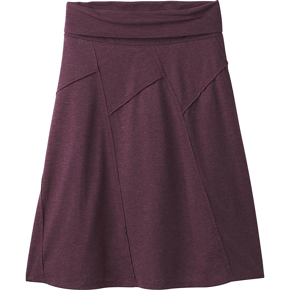 PrAna Daphne Skirt XS - Dark Plum - PrAna Womens Apparel - Apparel & Footwear, Women's Apparel