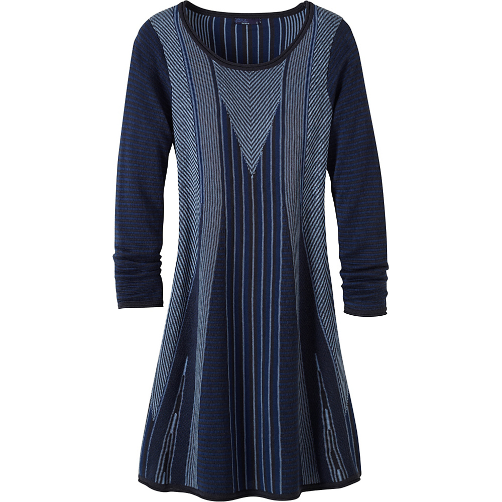 PrAna Whitley Dress XS - Dark Cobalt - PrAna Womens Apparel - Apparel & Footwear, Women's Apparel