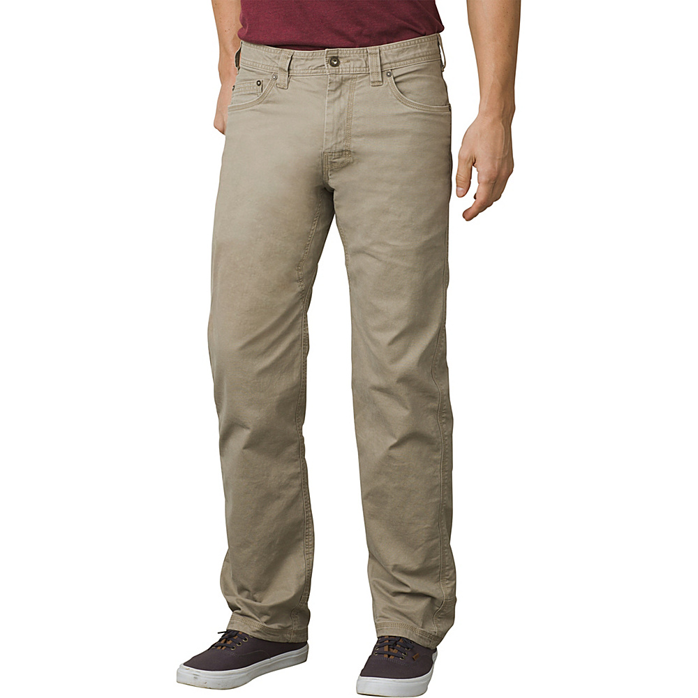 PrAna Bronson Lined Pant 36 - Dark Khaki - PrAna Mens Apparel - Apparel & Footwear, Men's Apparel