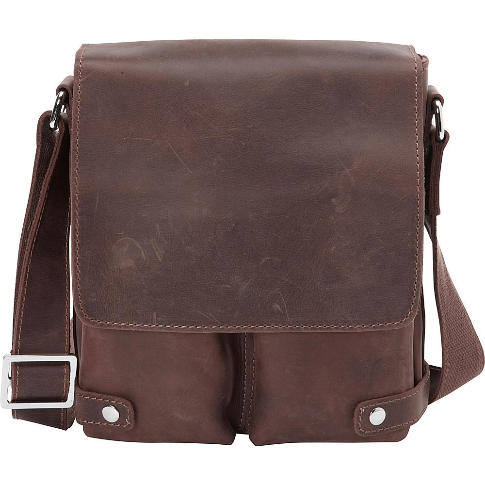 Vagabond Traveler Full Grain Leather Messenger Bag Distress - Vagabond Traveler Other Mens Bags - Work Bags & Briefcases, Other Men's Bags