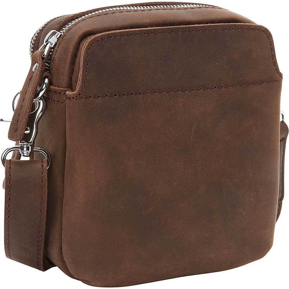 Vagabond Traveler Cowhide Leather Small Shoulder Waist Bag Distress - Vagabond Traveler Other Mens Bags - Work Bags & Briefcases, Other Men's Bags