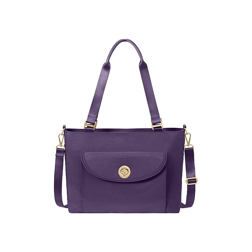 baggallini La Paz Tote - Retired Colors Grape - baggallini Fabric Handbags