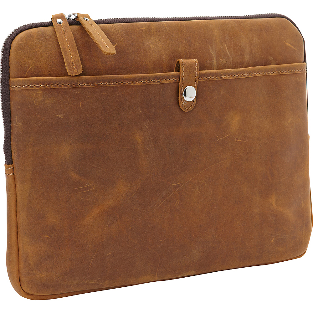 Vagabond Traveler 13 MacBook Pro Full Grain Leather Sleeve Vintage Brown - Vagabond Traveler Electronic Cases - Technology, Electronic Cases