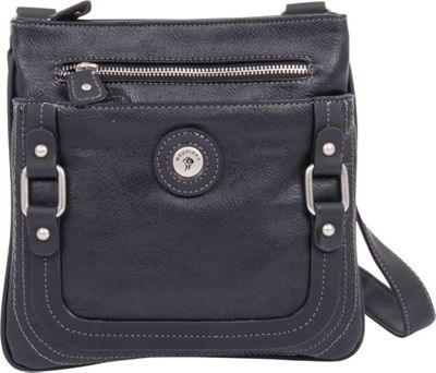 Mouflon Original RFID Generation Crossbody Black/Black - Mouflon Original Manmade Handbags