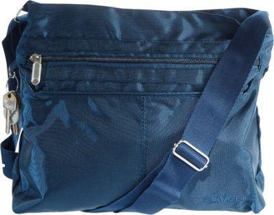 Suvelle Classic Travel Everyday Crossbody Bag Navy - Suvelle Fabric Handbags