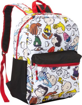 Peanuts Snoopy Snoopy Backpack White - Peanuts Snoopy Everyday Backpacks
