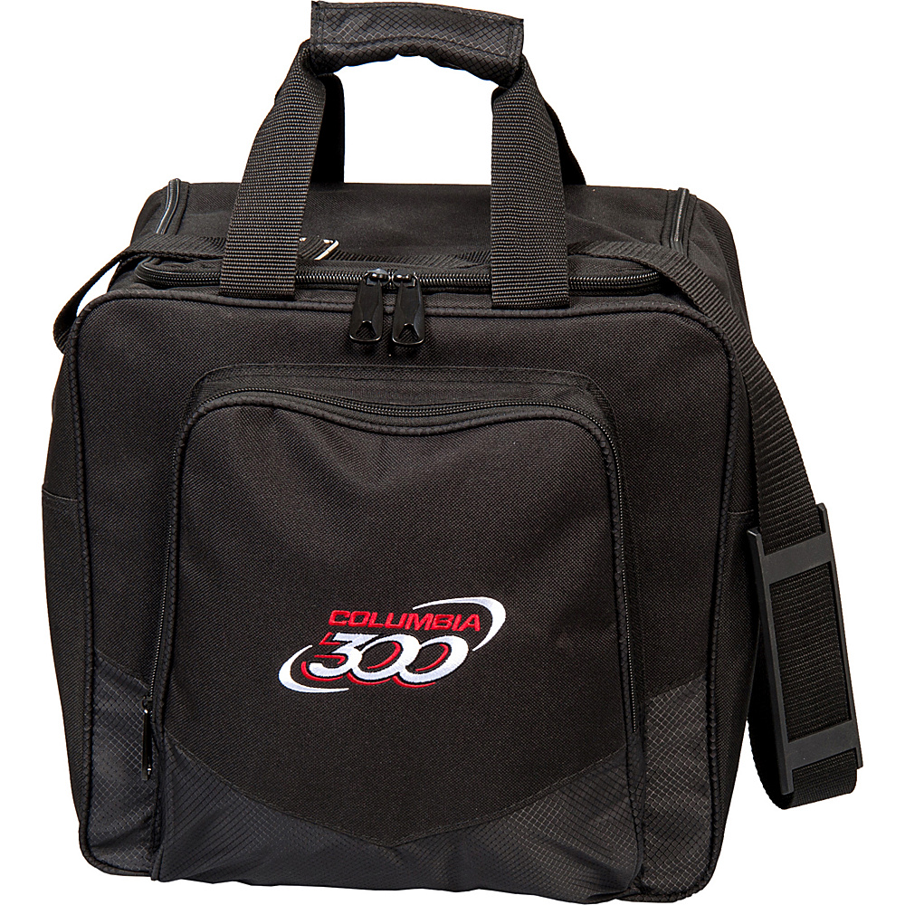 Columbia 300 Bags White Dot Single Tote Black Columbia 300 Bags Bowling Bags
