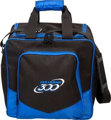 Columbia 300 Bags White Dot Single Tote Royal - Columbia 300 Bags Bowling Bags