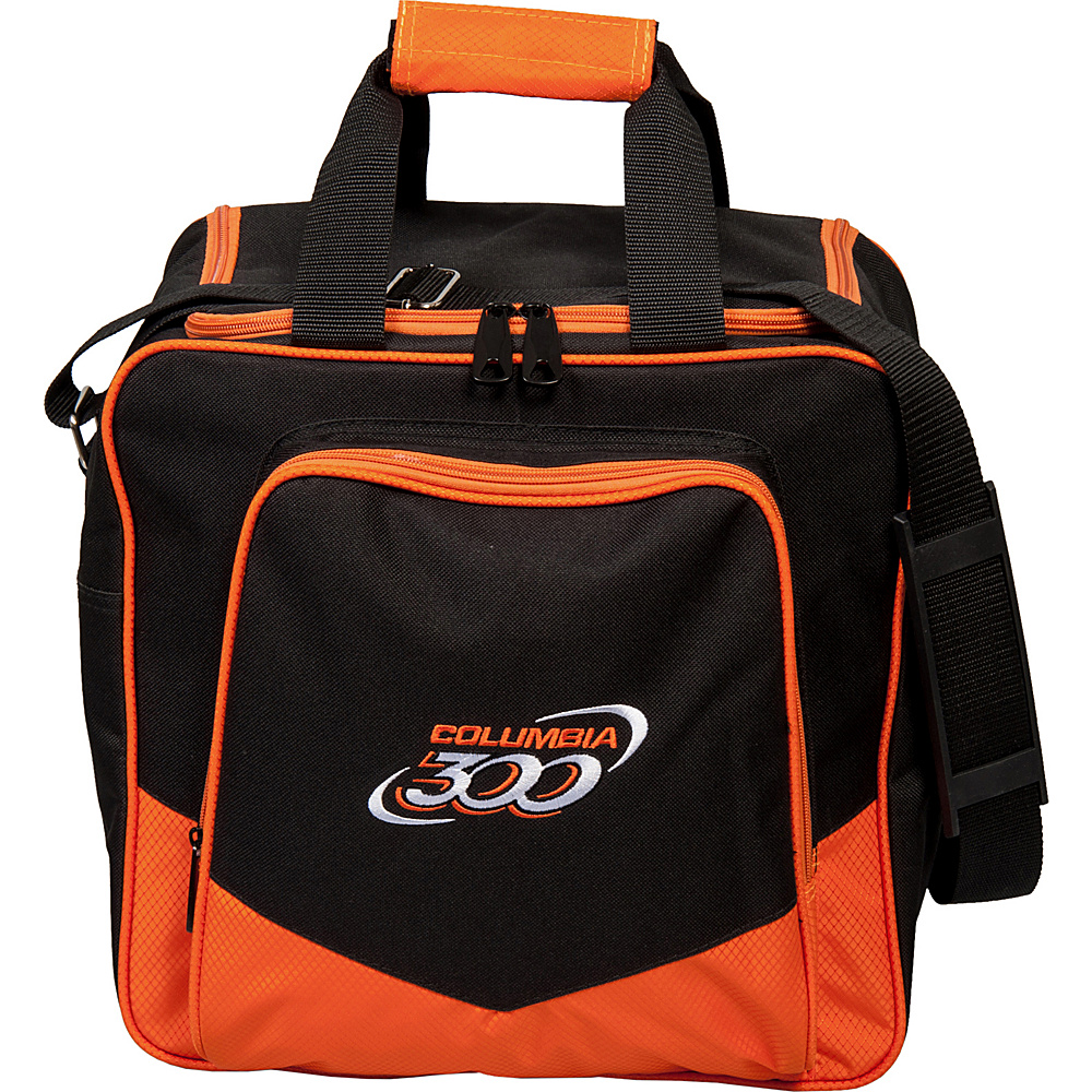 Columbia 300 Bags White Dot Single Tote Orange Columbia 300 Bags Bowling Bags