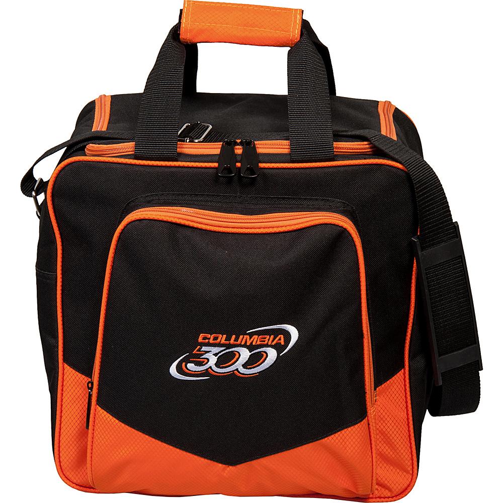 Columbia 300 Bags White Dot Single Tote Orange Columbia 300 Bags Bowling Bags