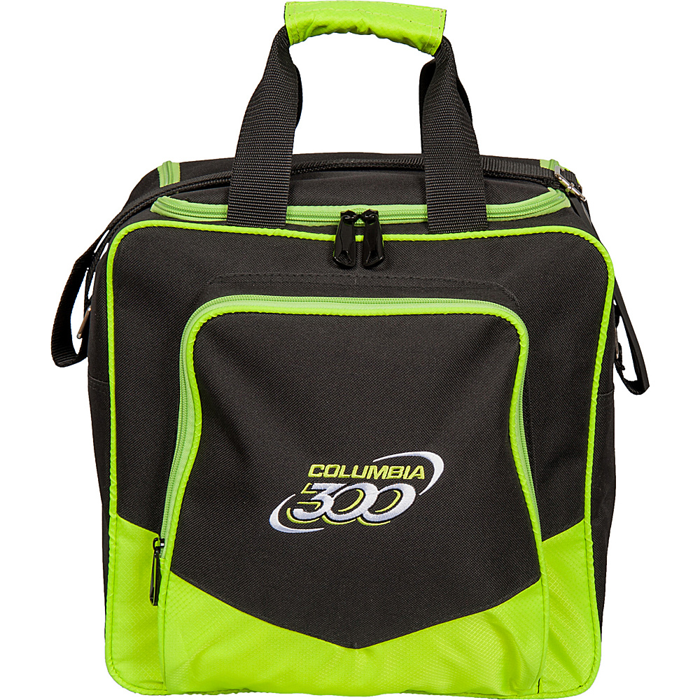 Columbia 300 Bags White Dot Single Tote Lime Columbia 300 Bags Bowling Bags