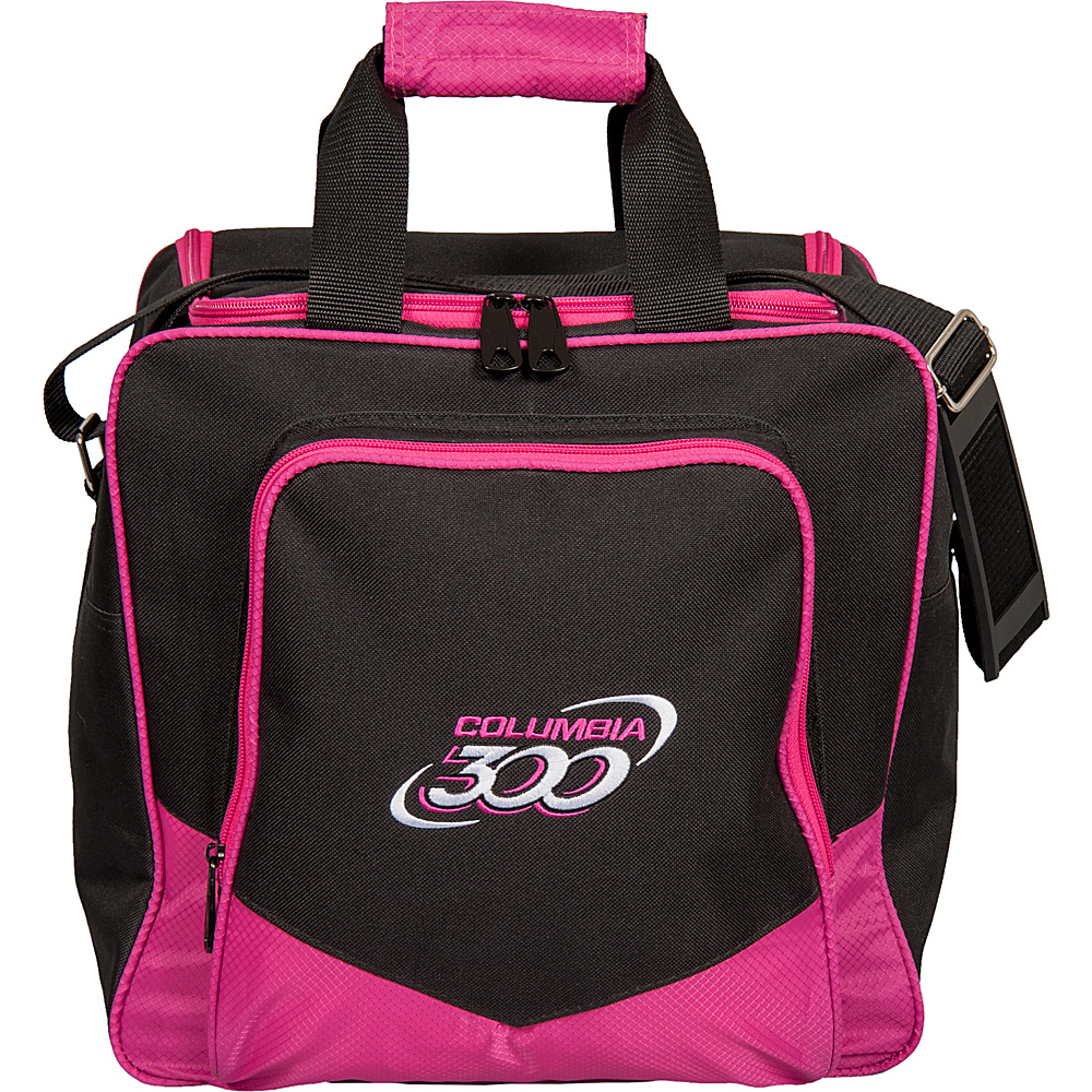 Columbia 300 Bags White Dot Single Tote Pink Columbia 300 Bags Bowling Bags