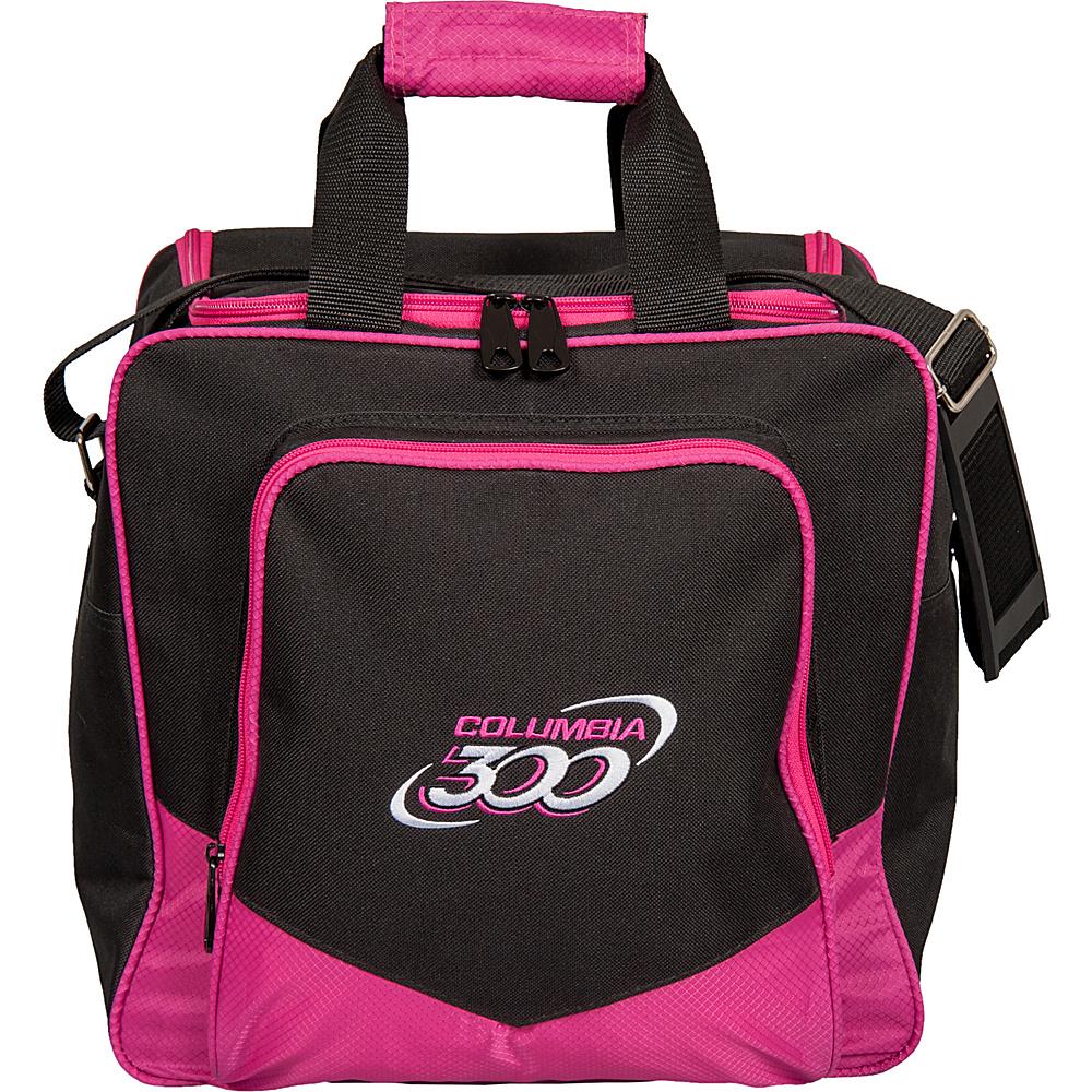 Columbia 300 Bags White Dot Single Tote Pink Columbia 300 Bags Bowling Bags