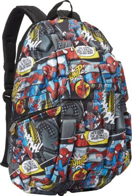 Madpax Spidey Senses Full Pack Red - Madpax School & Day Hiking Backpacks