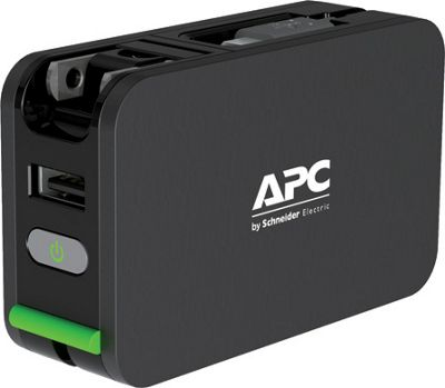 APC APC 3400mAh Lithium Ion Mobile Power Pack Black - APC Portable Batteries & Chargers