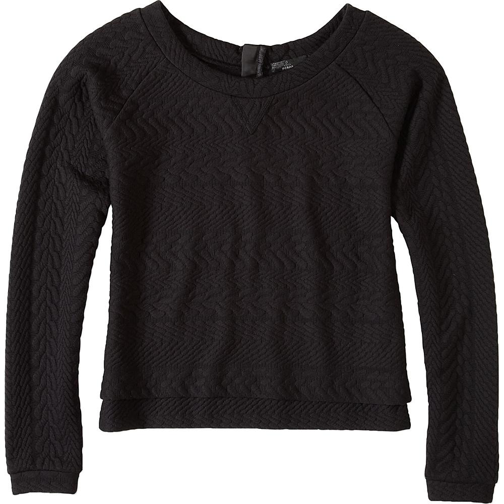 PrAna Dimension Crop Top XS - Black - PrAna Womens Apparel - Apparel & Footwear, Women's Apparel
